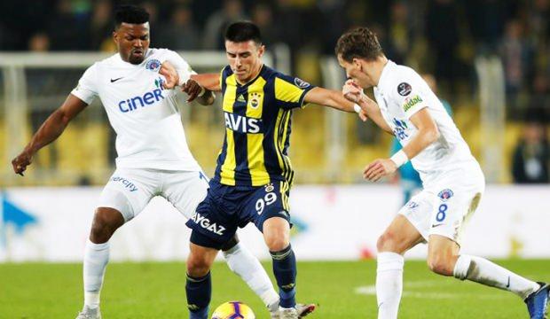 Kasımpaşa - Fenerbahçe maçında 11'ler belli oldu