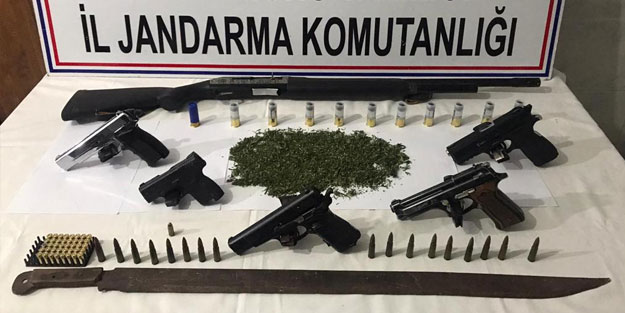 Kastamonu'da uyuşturucu operasyonu! 5 tutuklama