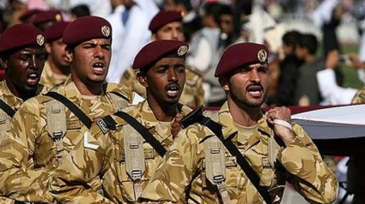 Katar ve İngiltere'den ortak tatbikat gerçekleştirdi