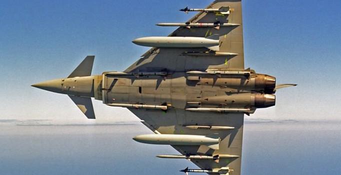 Katar'dan dev imza: 24 adet Typhoon tipi savaş uçağı geliyor