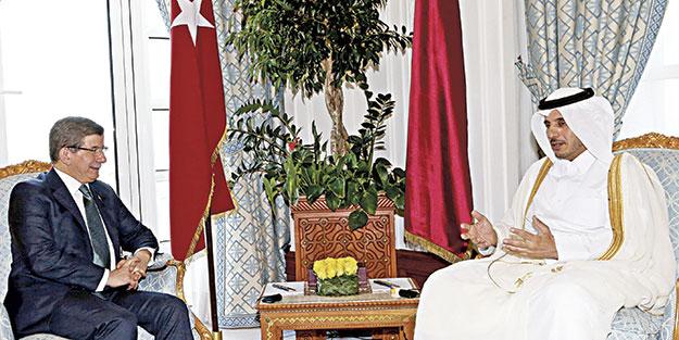 Katar'la dostluk güçlendi