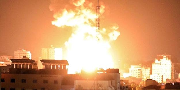 Katil devlet Gazze'ye saldırıyor