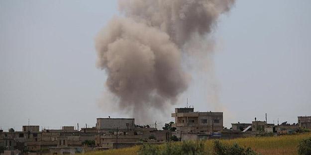 Katil Esed İdlib'de kan akıtmaya devam ediyor