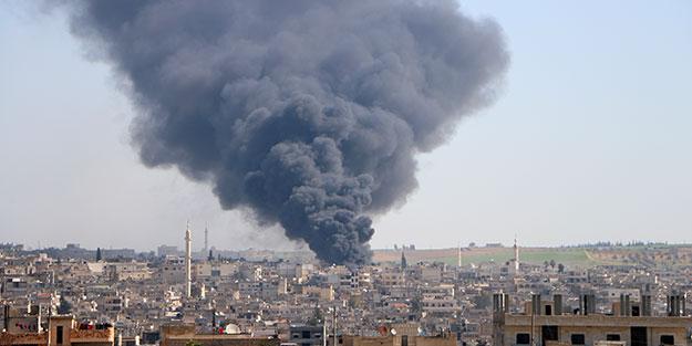 Katil Esed İdlib'e yine saldırdı!