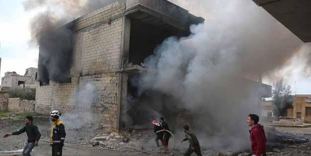 Katil Esed İdlib'i vurdu! Çok sayıda ölü ve yaralı var