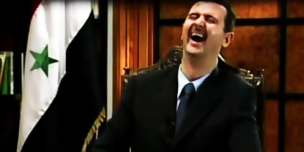 Katil Esed kara saldırısı başlattı!
