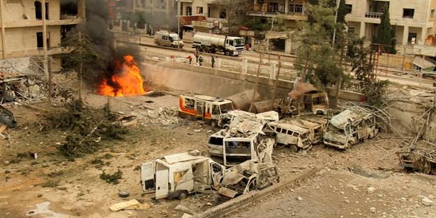 Katil Esed rejimi İdlib saldırılarını sürdürüyor