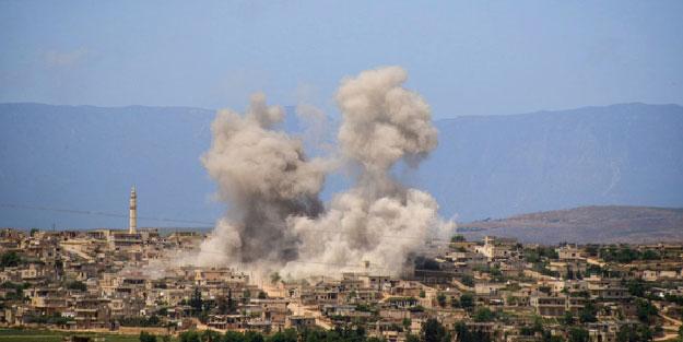 Katil Esed rejimi, İdlib'e yine saldırdı! 4'ü çocuk 12 sivil öldü
