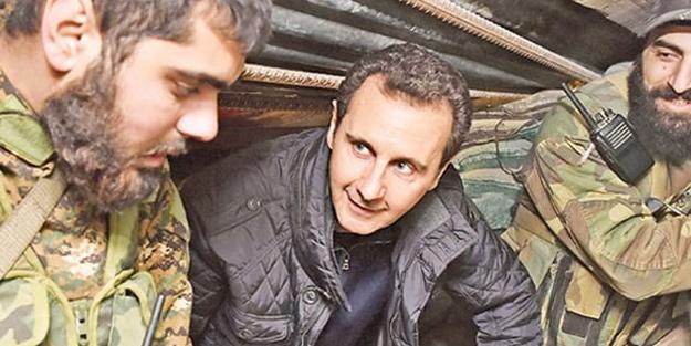 'Esed rejimi YPG işgalindeki bölgeye girdi'