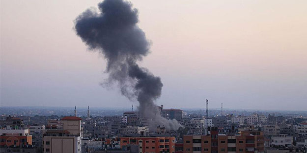 Katil Esed yine İdlib'e saldırdı