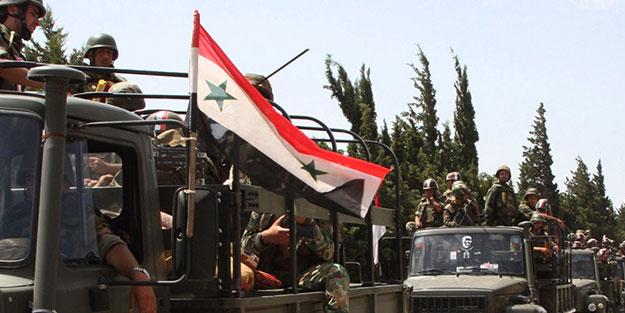 Esed'den Suriye'nin kuzeyine yığınak