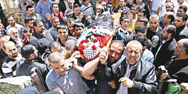 'Katil İsrail' yine bir bahaneyle Filistinli öldürdü
