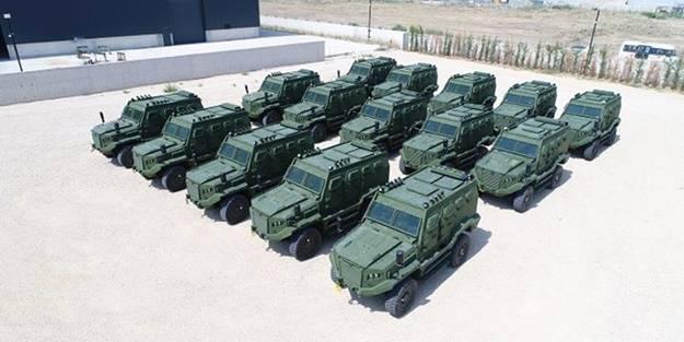 Türkiye'den Afrika ülkesine askeri ihracat