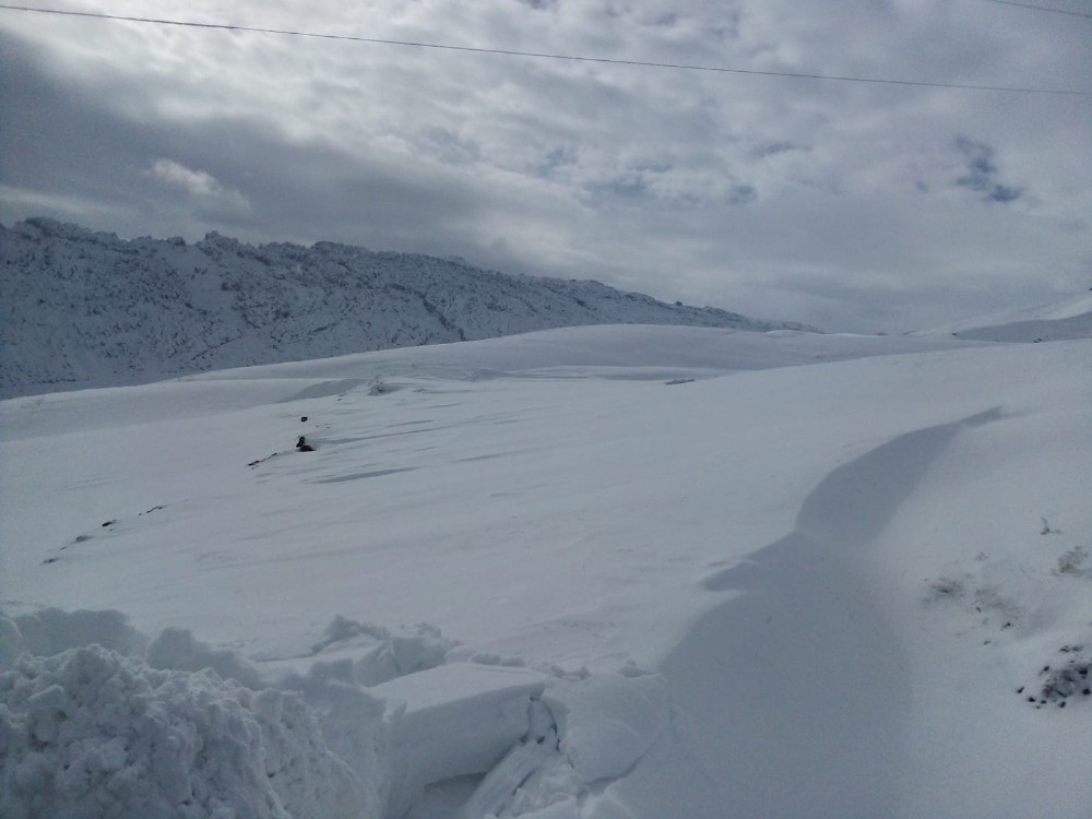 Kato'da kar kalınlığı 3 metreyi aştı