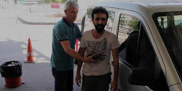 Kaybolan AA muhabirine hakaret eden şahıs yakalandı