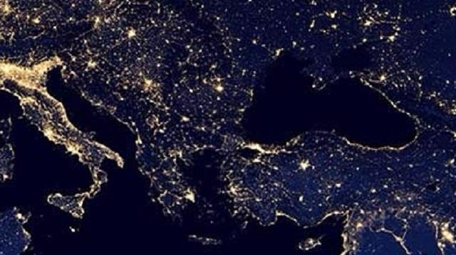 Kayıtdışı ekonomiyi gece ışıkları çözümü