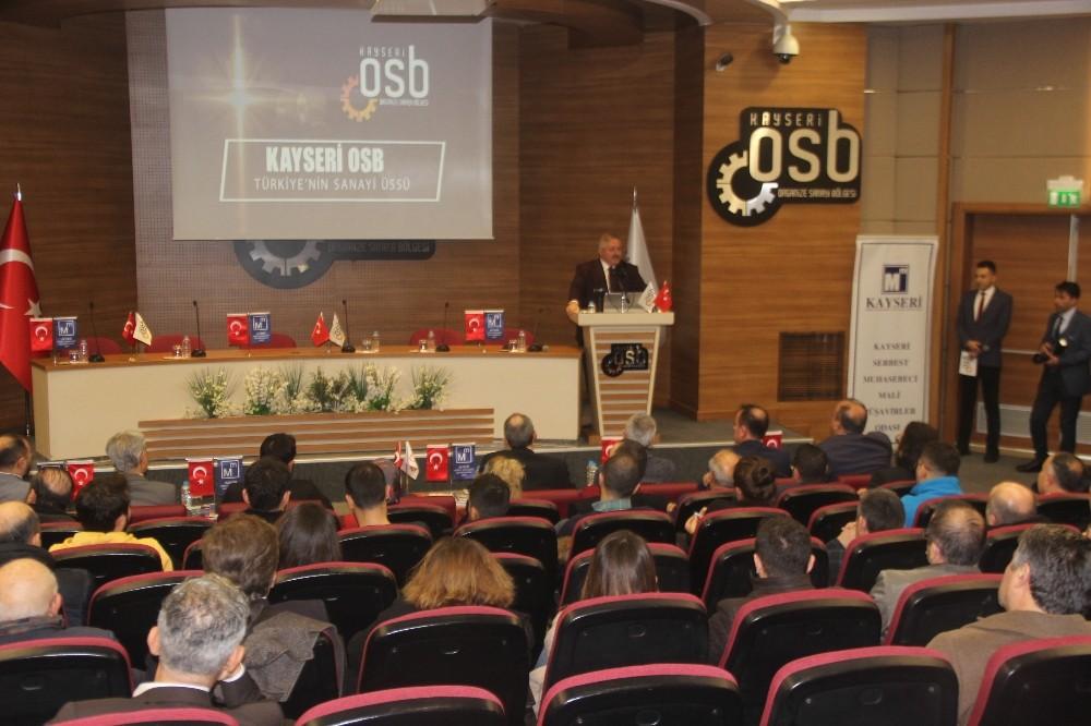 Kayseri OSB Başkanı Tahir Nursaçan: