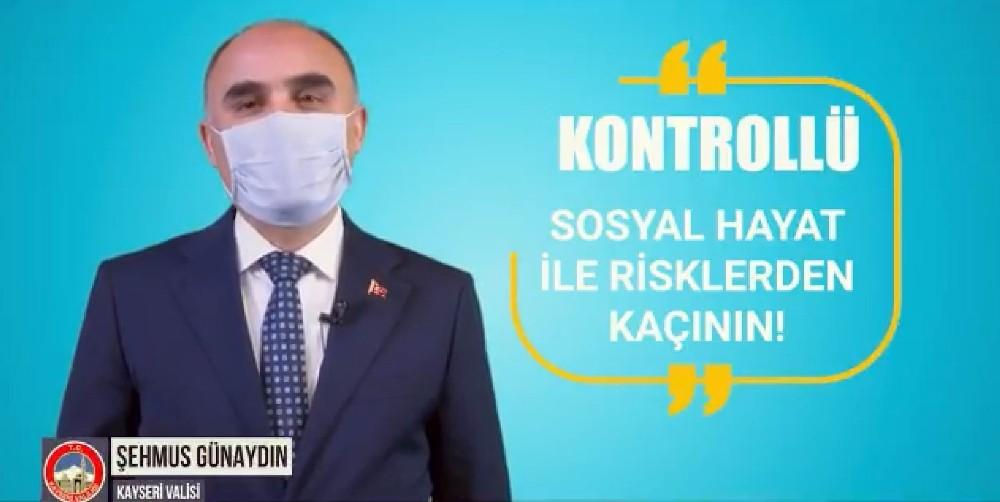 Kayseri protokolünden 'Korona virüse' karşı bilgilendirici video