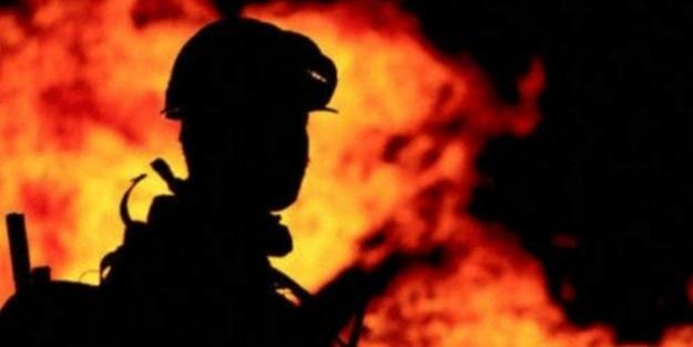 Kayseri'de feci yangın! Minibüs kullanılamaz halde
