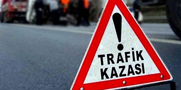 Kayseri'de iki otomobil çarpıştı: Yaralılar var