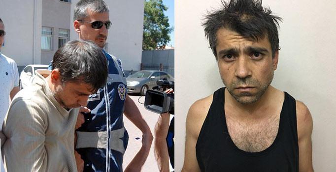 Kayseri'de seri katil'den mahkemede tuhaf hareketler dikkat çekti