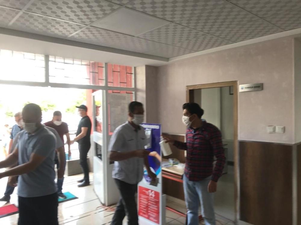 Kayseri'de SRC belgesi sınavının ilk oturumu yapıldı