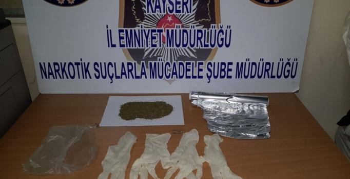 Kayseri'de uyuşturucu satıcılarına operasyon: 5 kişi gözaltına alındı