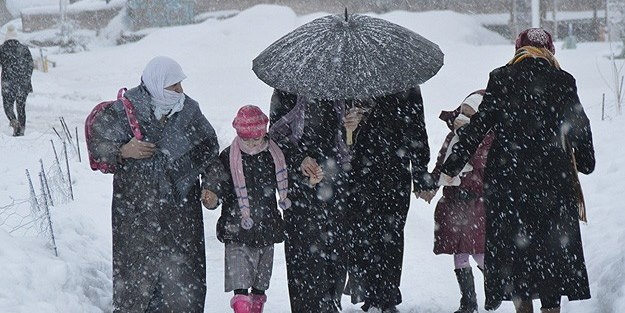 Kayseri'de 17 Ocak Perşembe okullar tatil mi