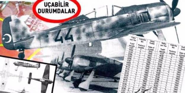 Kayseri'de yerin altından savaş uçakları çıkıyor