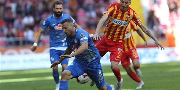 Kayserispor Çaykur Rizespor maçı muhtemel 11'leri