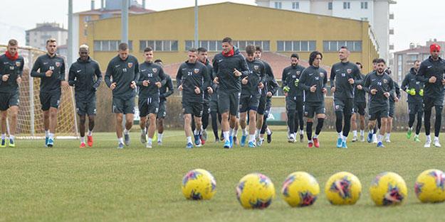 Kayserispor, Göztepe maçının hazırlıklarını sürdürdü