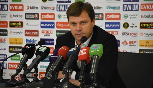 Kayserispor teknik direktörü Ertuğrul Sağlam: Saçma sapan...