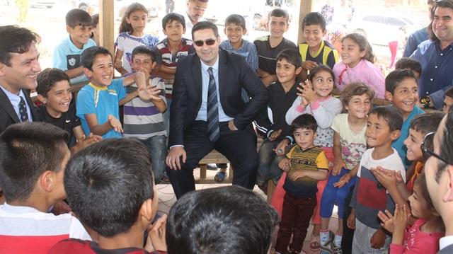 'Kayyım başkan' 3 ayda 5 çocuk parkı açtı