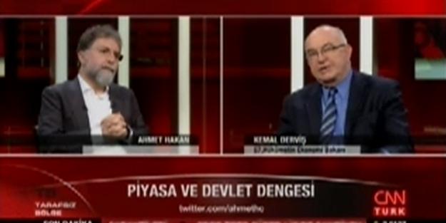 Kemal Derviş konuştu, CHP'liler buz kesti