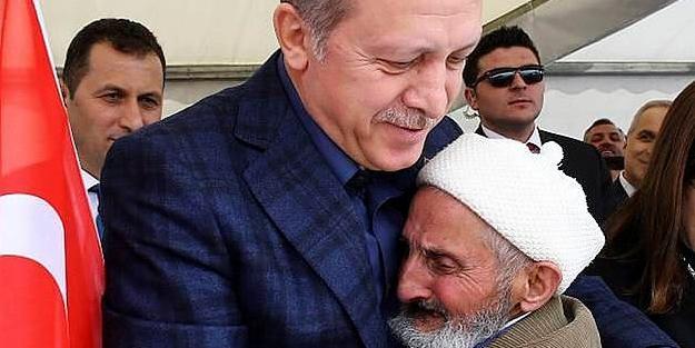 Kemalettin dede Cumhurbaşkanı Erdoğan ile görüştü