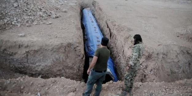 Kenti köstebek yuvasına çevirmişler! İşte Tel Abyad'daki tüneller