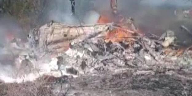 Ülkede askeri helikopter düştü: 17 asker öldü 6'sı yaralandı