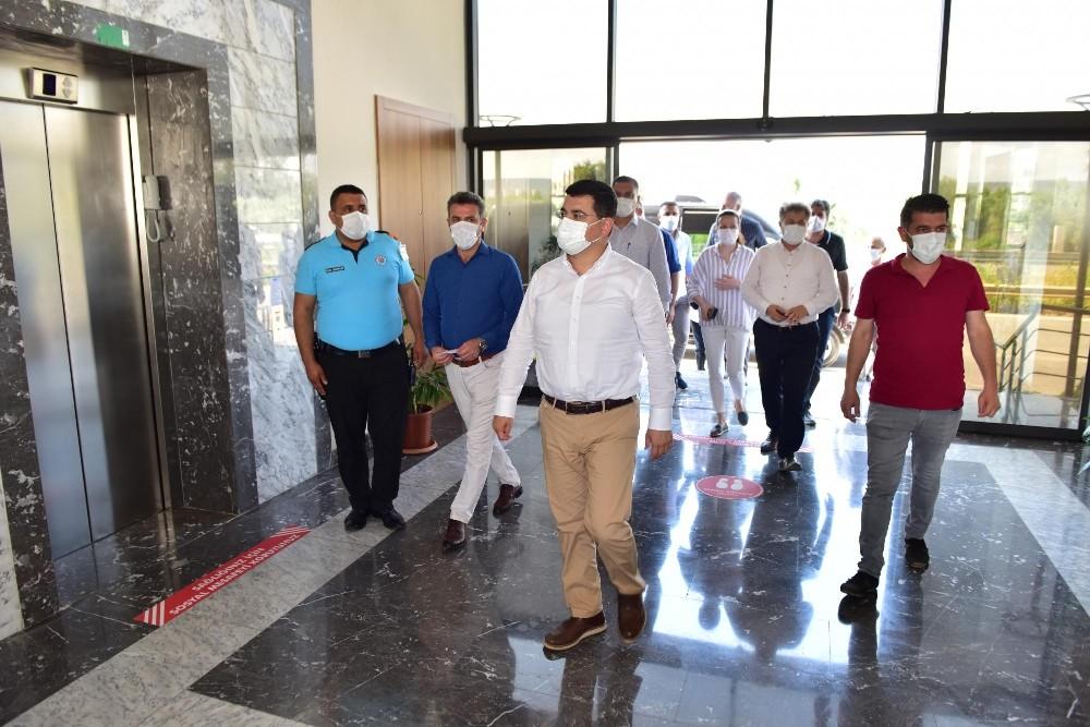 Kepez'in konukevi sağlık çalışanlarına sıcak yuva oldu