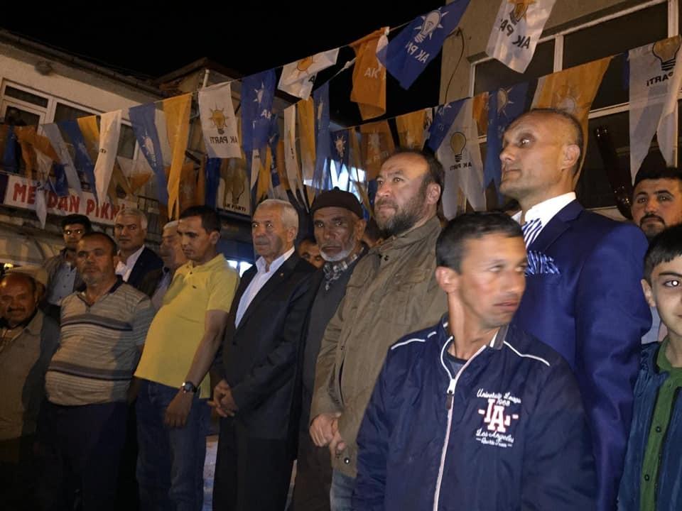 KESKİN'DE 2 BÜYÜK AİLE AK PARTİ'YE KATILDI
