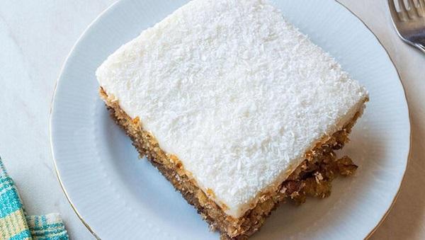 Kıbrıs tatlısı nasıl yapılır? Kıbrıs tatlısı tarifi