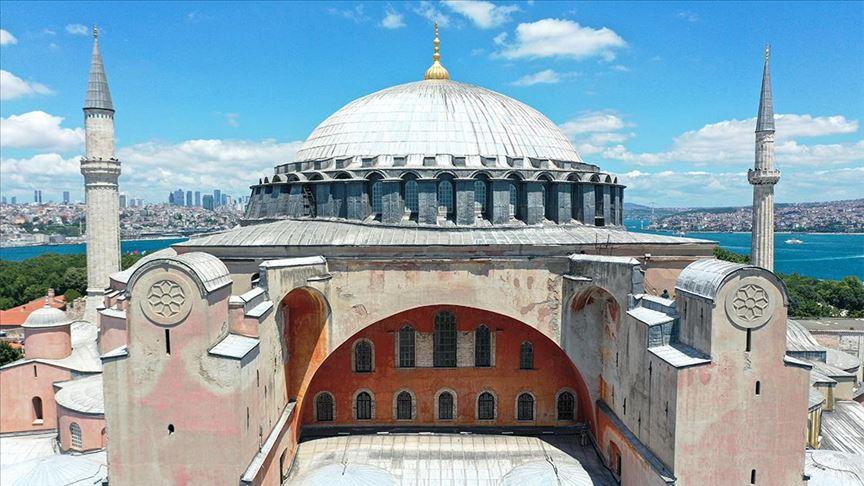 Kıbrıs Vakıflar İdaresi: Ayasofya'nın yeniden ibadete açılması olumlu bir karardır