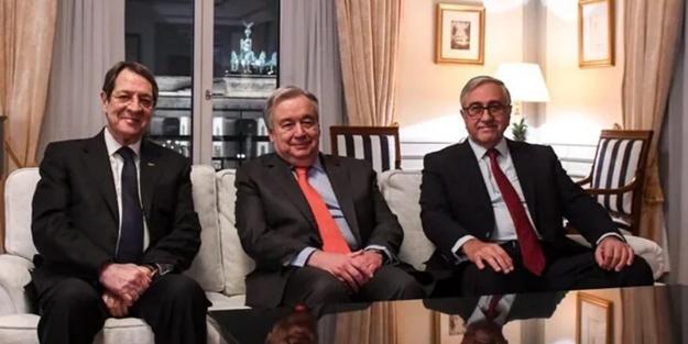 Kıbrıs zirvesinin ardından BM'den açıklama: Kıbrıslı liderler federasyona bağlılıklarını teyit etti