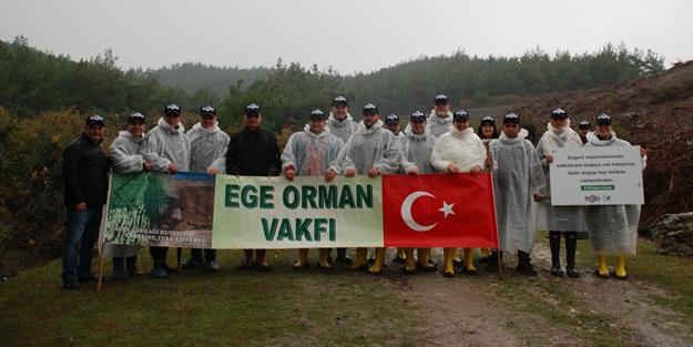 'Kiğılı Ormanı' İzmir'de hayata geçti