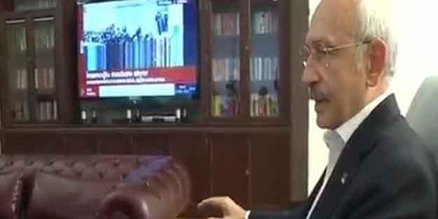 Kılıçdaroğlu TV'den izledi! İşte ilk açıklamaları