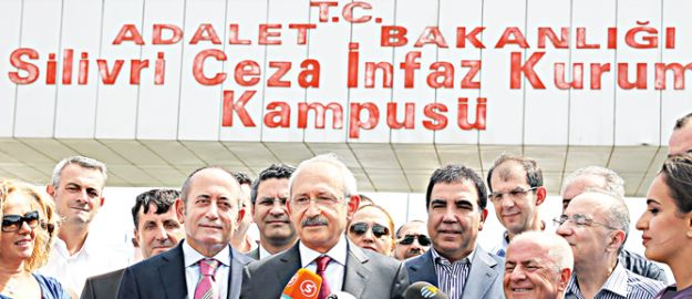 Kılıçdaroğlu da Silivri'de