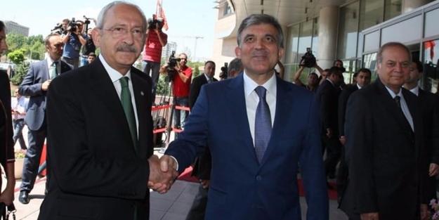 Kılıçdaroğlu'ndan Abdullah Gül açıklaması
