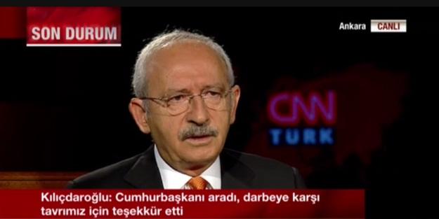 Kılıçdaroğlu'ndan 'darbe' gafı