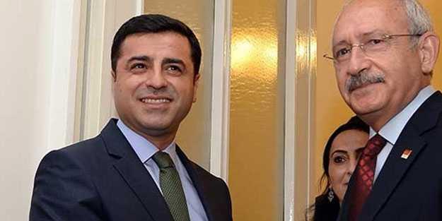 Kılıçdaroğlu'ndan savcıları tehdit eden Demirtaş'a destek