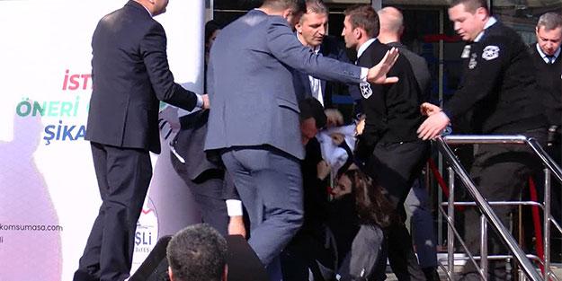 Kılıçdaroğlu'nun katılacağı törende ortalık karıştı! Korumalar müdahale etti