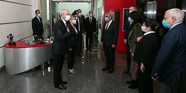 Kılıçdaroğlu'nun sözleri HDPKK'yı mest etti